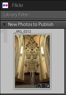 Adobe Lightroom Flickr Photo Publish
