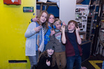 Foto van de jonge band Fire Music
