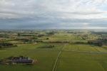 Uitzicht vanuit heteluchtballon in de buurt van Wijhe
