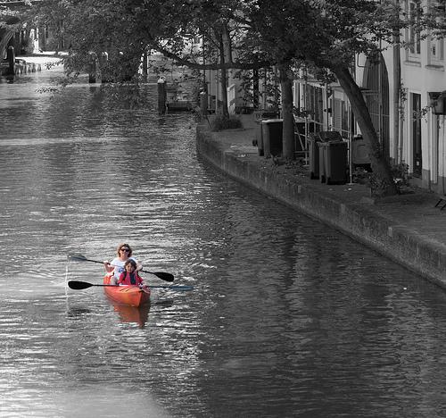 The Little Orange Canoe