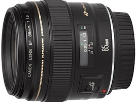 Canon EF 85mm f/1.8 USM Objectief
