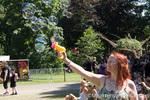 Castlefest 2013 - Vrouw met bellenblaaspistool