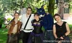 Castlefest 2013 - Groep Middeleeuws geklede bezoekers