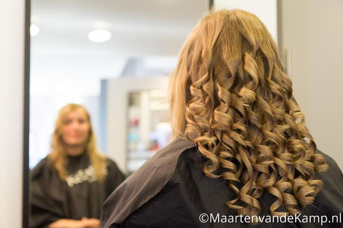 Het haar van de bruid