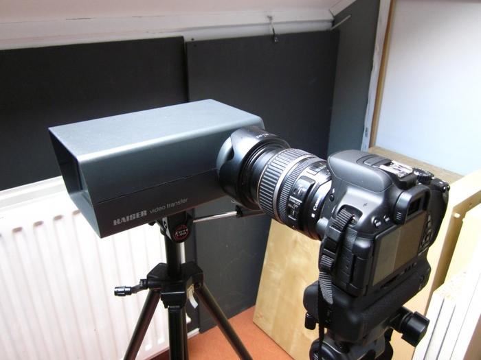 Kaiser Video Transfer & Canon EOS 650D