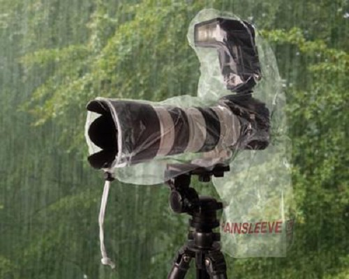 Optech Rain Sleeve Flash