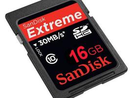 SanDisk SDHC 16 GB Extreme Class 10