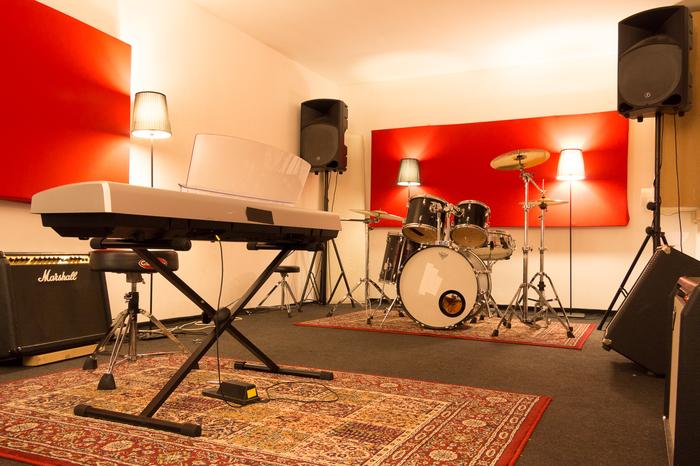 Studio Frankrijk - Oefenruimte