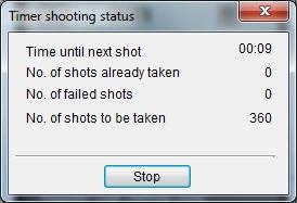 Timer Shooting Status