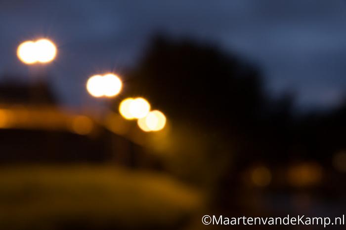 Bokeh met nachtfotografie