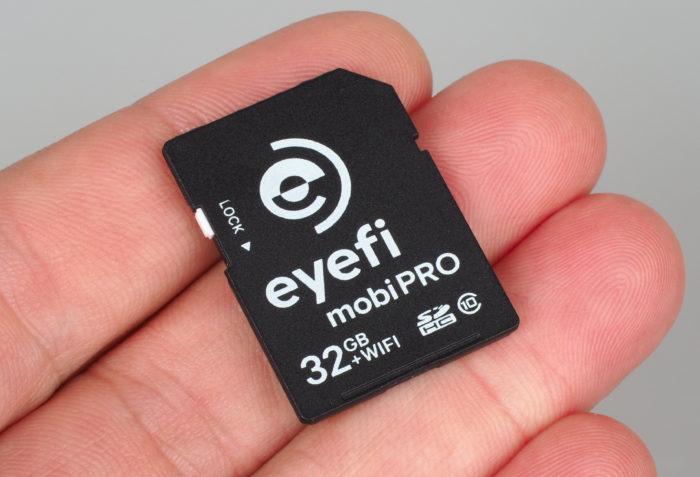eyefi SDHC 32GB Wi-Fi SD-kaart